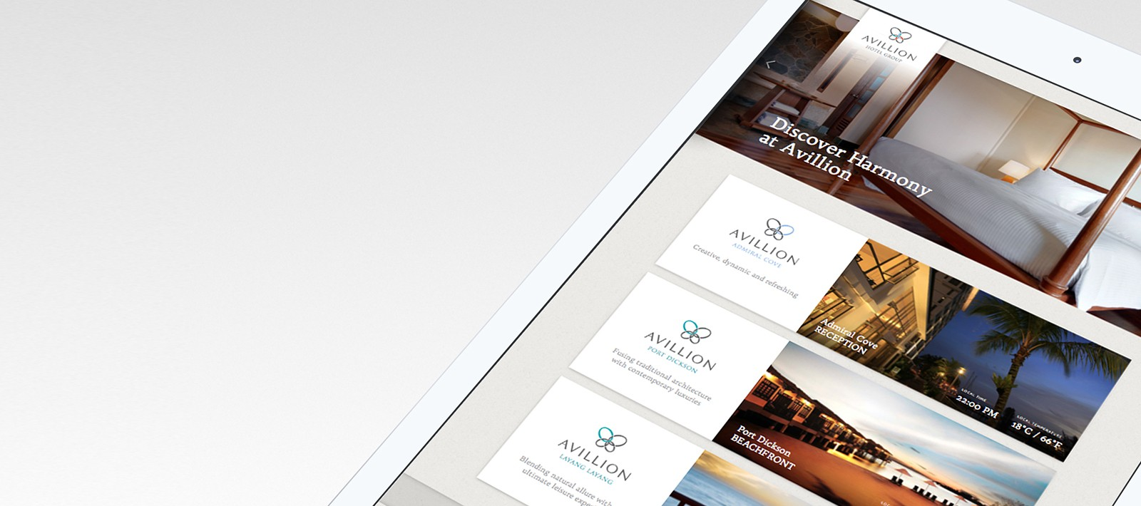 App development for a hospitality brand