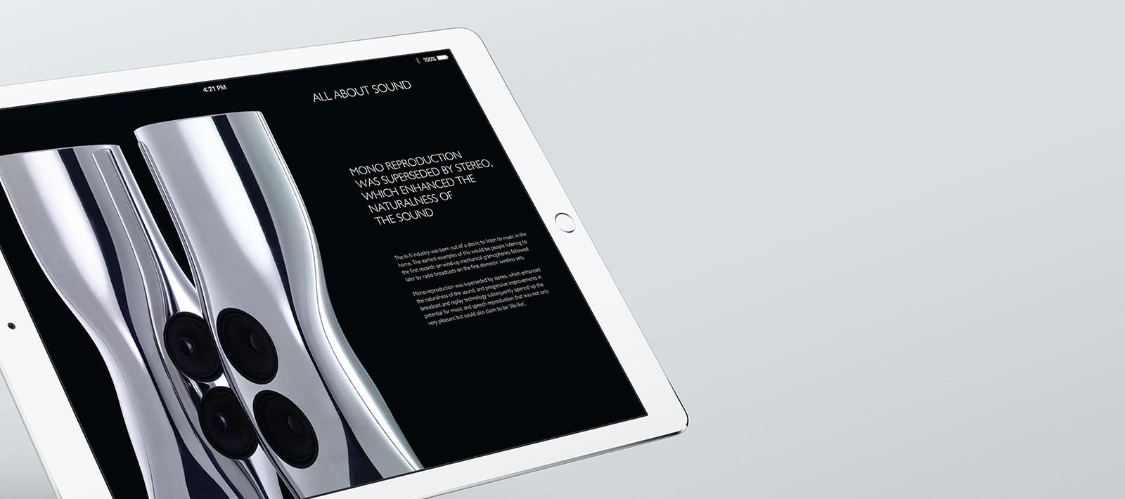 Brand book design for Kef