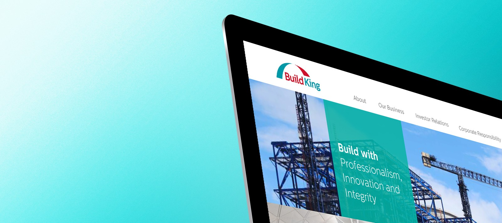 Brand identity strategy for a construction company