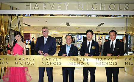 Harvey Nichols Grand Opening Marketing image