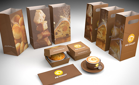Pie Chalet Packaging image